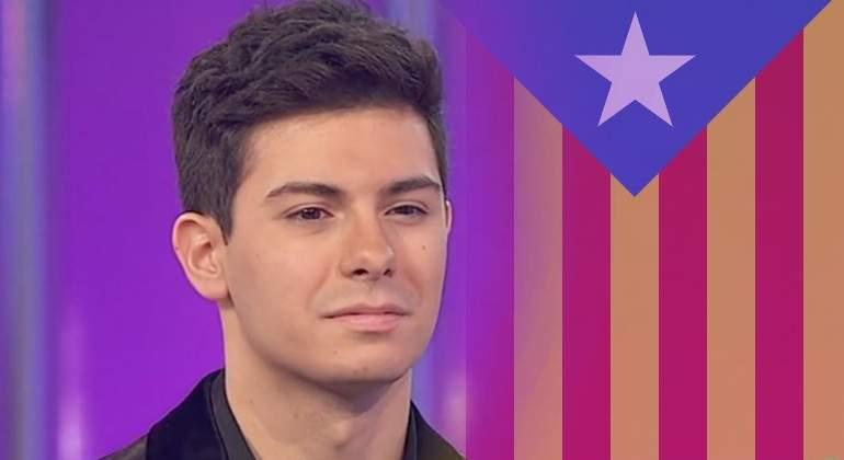 De apoyar la independencia  a ir a Eurovisión por España...