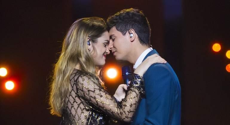 España vuelve a fracasar en Eurovisión: Amaia y Alfred acaban cuartos por la cola