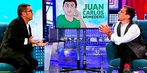Así fue la gran bronca entre Monedero y Jorge Javier en el Deluxe