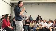 Pablo Iglesias insiste en su entrada en Gobierno: Vinimos a mancharnos las manos