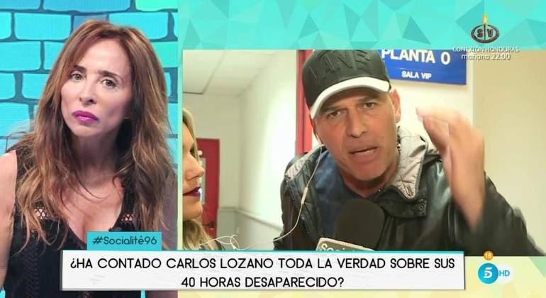 Carlos Lozano y María Patiño tienen una fuerte discusión