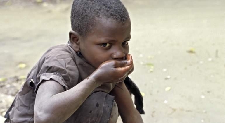 El peligro del hambre, la sequía y la guerra en África