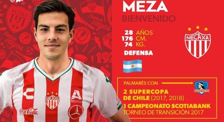 Fernando Meza Necaxa
