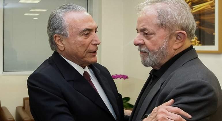 Ex presidente Lula de Brasil lidera intención de voto para 2018