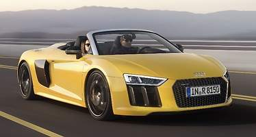 Audi R8 Spyder: 540 caballos a cielo descubierto