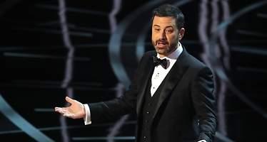 Trump, la diana en el discurso de Jimmy Kimmel en los Oscar