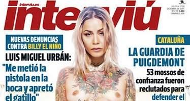 Ariadna Cross, concursante de Gran Hermano, desnuda en Interviú