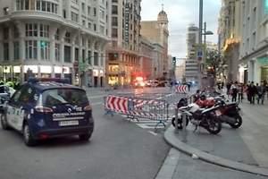 Falsa alerta de bomba en Madrid
