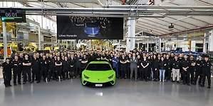 Lamborghini alcanza las 10.000 unidades del Huracán en cuatro años