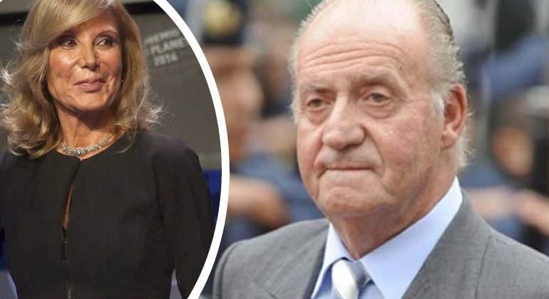 Pilar Eyre confiesa que Juan Carlos I tiene una hija ilegítima y da pistas de su identidad