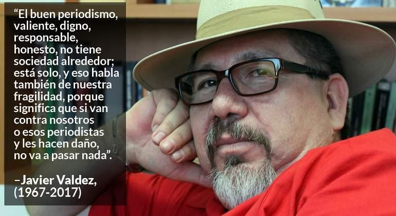 Asesinan al galardonado periodista mexicano Javier Valdez en Sinaloa