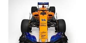 McLaren MCL33: así es el nuevo monoplaza vintage de Alonso para 2018