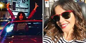 Marta Torné se desmelena en Los Ángeles