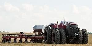 El tractor autónomo de Case IH llega a Europa