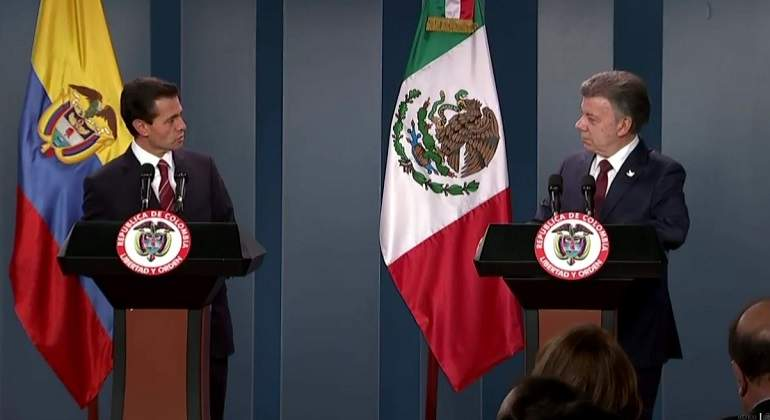 Relación México-Colombia, en su mejor momento: Peña Nieto