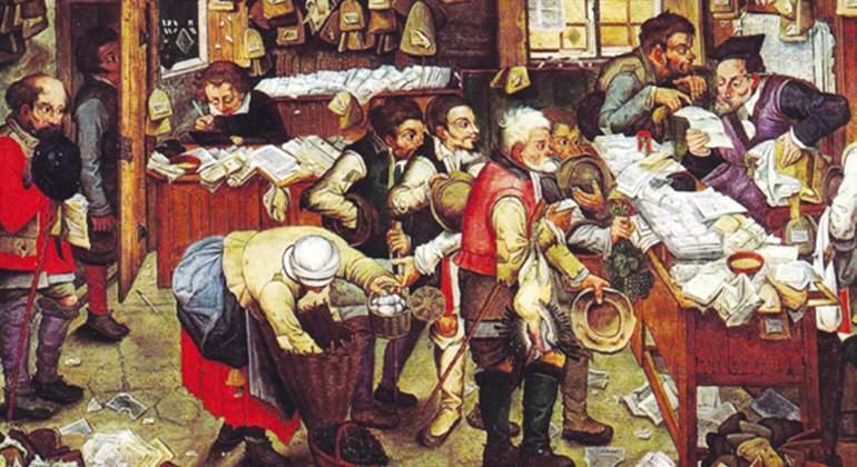 Orina, barbas, ventanas... Los impuestos más raros de la historia