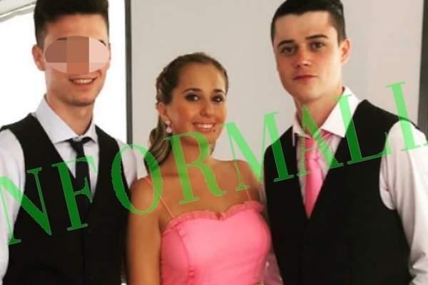 Resultado de imagen de Así es la imagen de Andrea Janeiro y su novio inglés en la boda de Belén Esteban