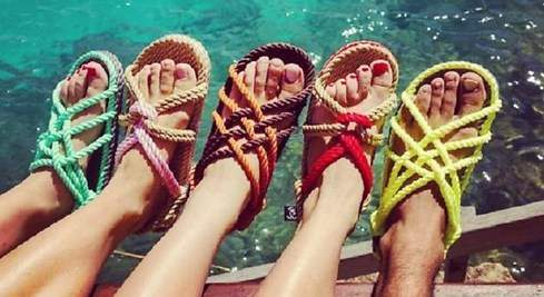 Las sandalias de cuerdas ecológicas: la nueva moda del verano