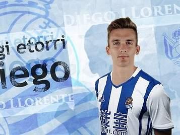 La Real Sociedad hace oficial el fichaje de Diego Llorente, primera venta blanca