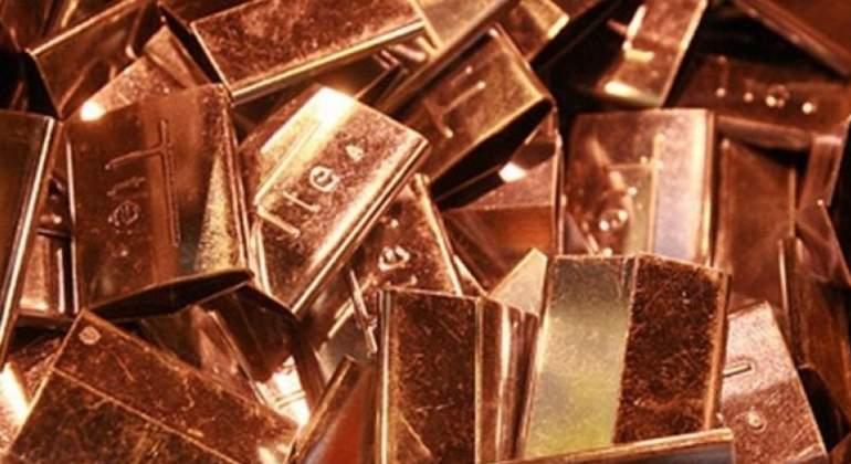 Precio del cobre anota octava baja consecutiva