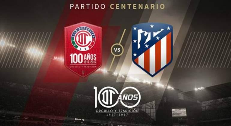 El Atletico de Madrid vuela hacia México