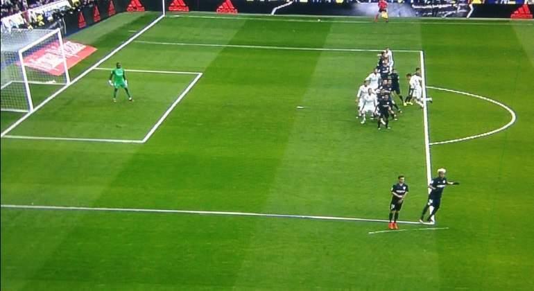 El segundo gol de Ramos no fue legal