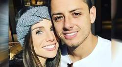 El futbolista Chicharito y Lucía Villalón se casan