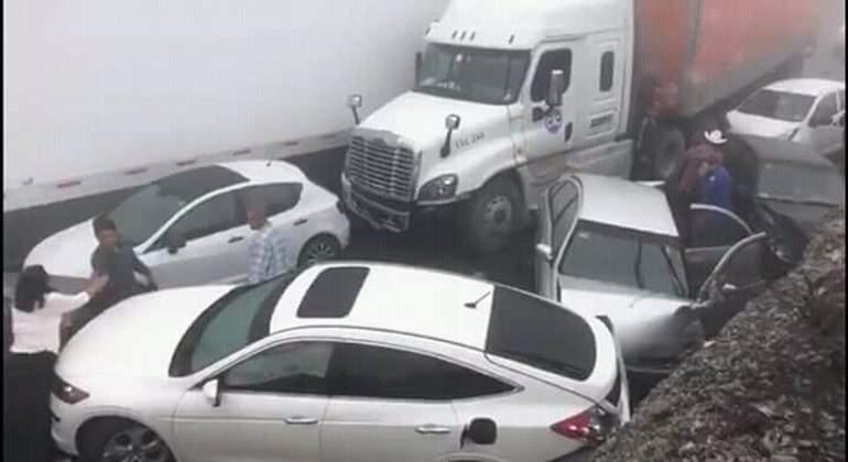 Monterrey: Continúa cerrada la autopista libre Saltillo