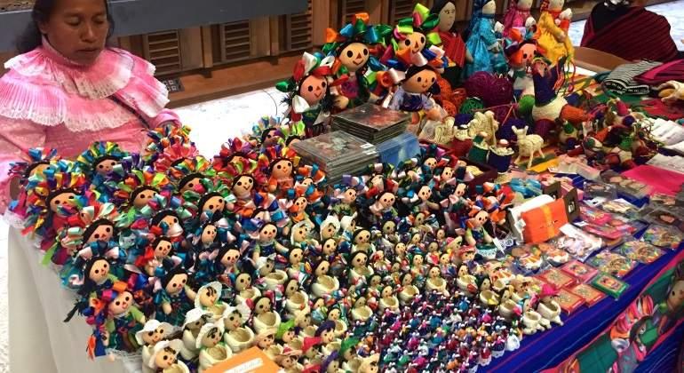 Madrile os aumentan gusto por artesan as navide as for Artesanias navidenas