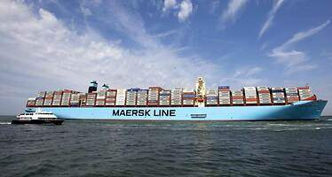 La danesa Maersk gana un 86% menos hasta junio y estudia ajustes adicionales