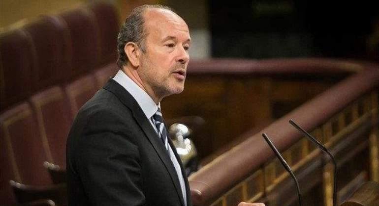 Juan Carlos Campo, magistrado y diputado del PSOE, ministro de Justicia