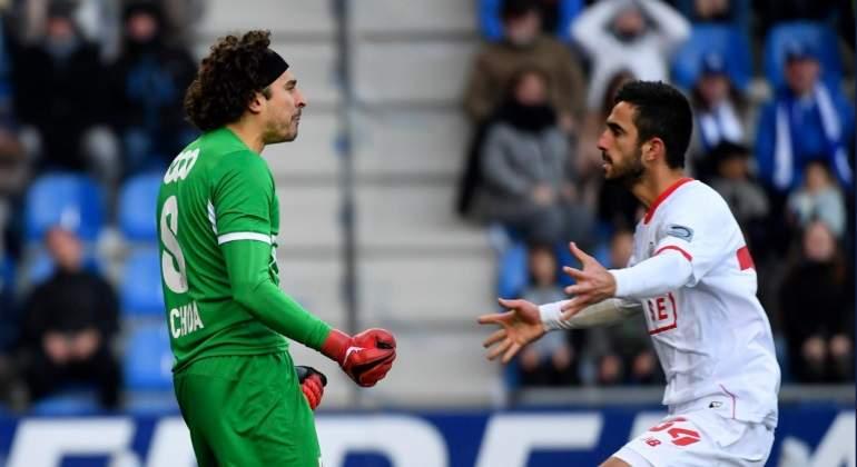 Golea Standard Lieja con Ochoa como titular