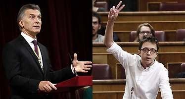 Podemos carga contra Macri y le compara con el PP en recortes y corrupción: Es de los suyos
