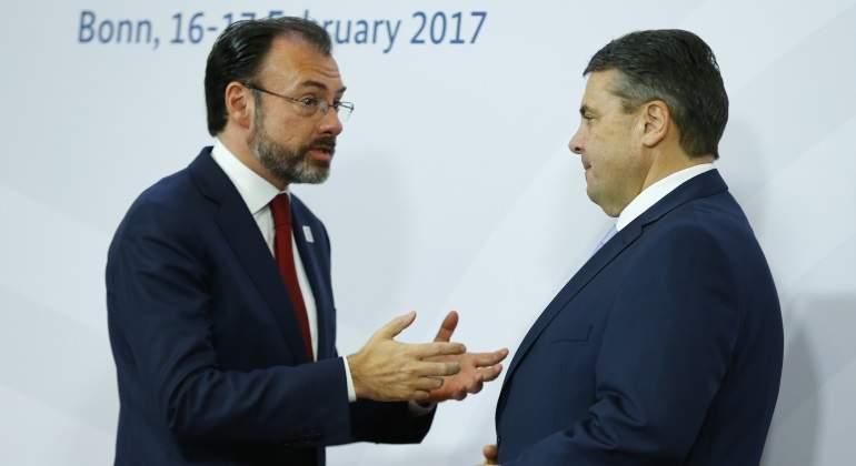 Luis Videgaray comparece en el Senado por relación México-EUA
