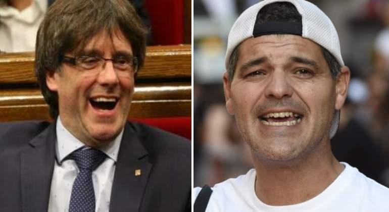 Frank Cuesta lamenta que un tío con la fregona  en la cabeza centre la actualidad y no Galicia