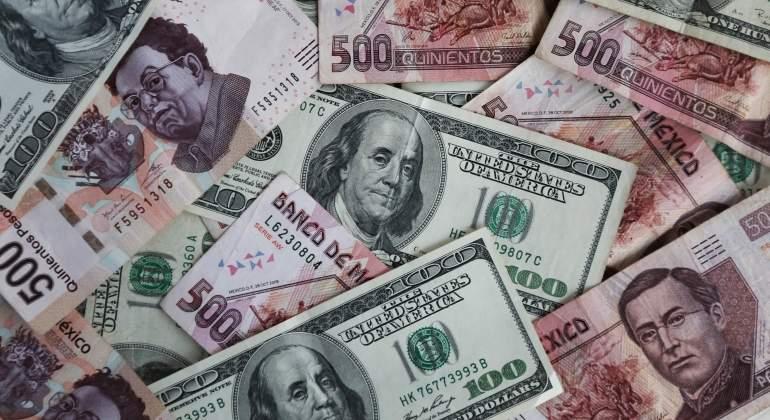 Dólar baja a 18.50 pesos a la venta ante TLCAN