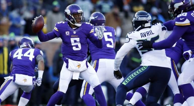 Bridgewater sufre rotura de ligamentos en práctica con los Vikings