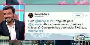 Rufián intenta fichar a Garzón: Yo no tengo precio