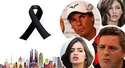Alejandro Sanz, Carles Puyol, Cristina Pedroche... Los famosos apoyan Barcelona en 25 imágenes