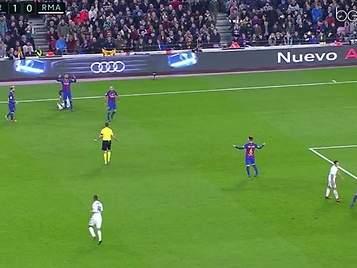 El grave error de Arda Turan que propició el gol de Ramos en el Clásico