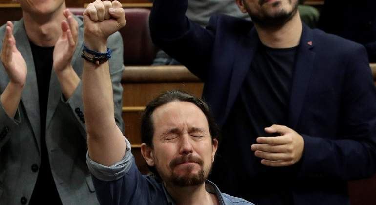 POSERS in the night (Rock and Roll tonight) Iglesias-llora-congreso-efe