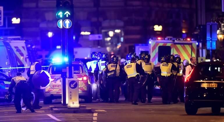 Doce detenidos en Londres en relación con el ataque terrorista