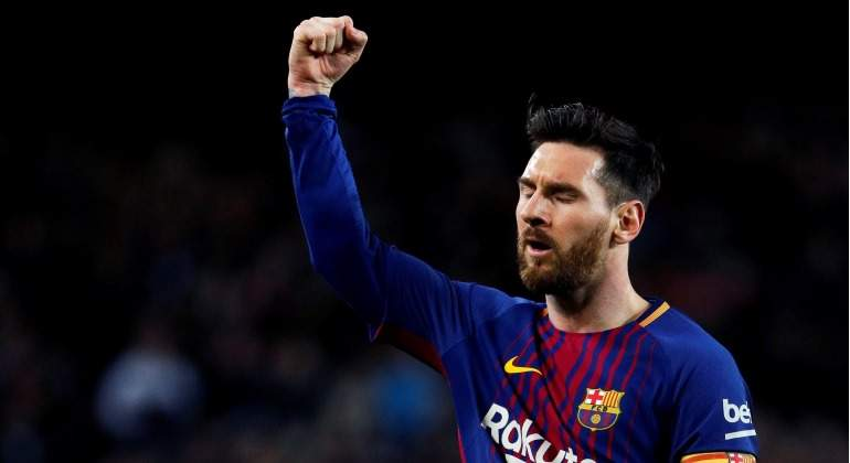 Lionel Messi gana en todo