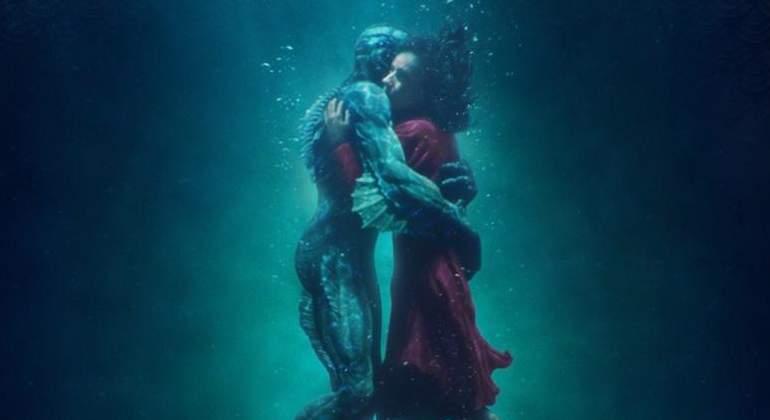 La forma del agua, gran favorita para los Oscar