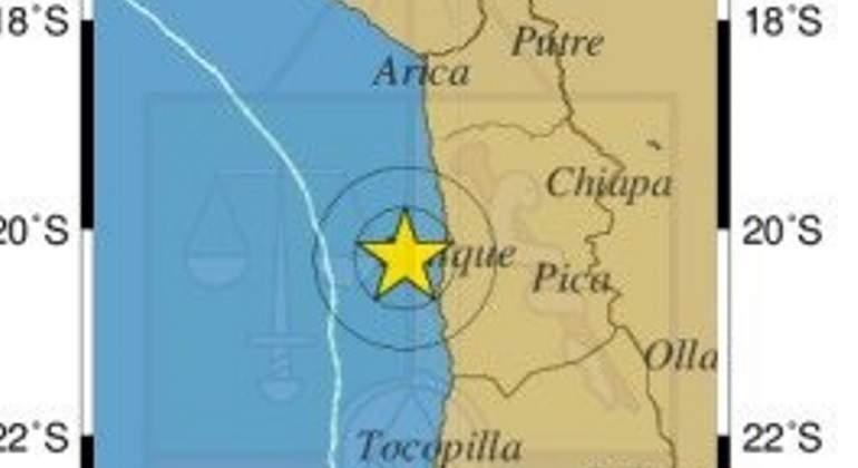 Sismo de fuerte intensidad sacude las costas de California