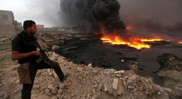 El Estado Islámico pierde el control de todos los pozos de petróleo de Irak