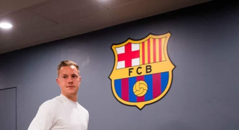 Ter Stegen renovó con el Barcelona hasta 2022