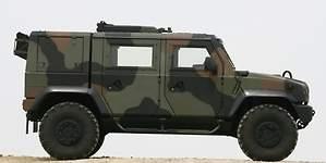 Iveco LMV Lince: el coche que salva la vida a los soldados españoles