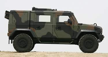 Iveco LMV Lince: el vehículo que salva la vida a los soldados españoles