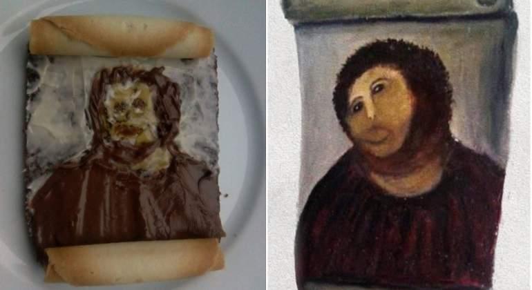 La nueva moda en Twitter: recrear los cuadros más famosos en sándwiches